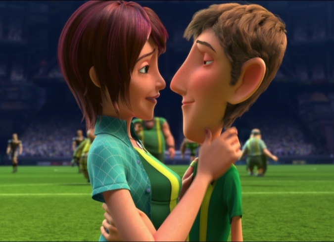 Cheerleader and football player get it on - 3 9