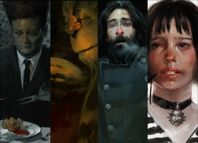 Imágenes: El cine como principal fuente de inspiración en la obra de Massimo Carnevale, ilustrador y pintor italiano