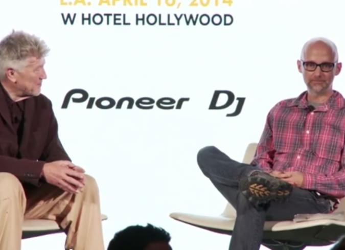 David Lynch conversa con Moby