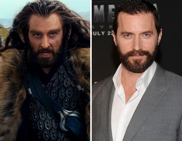 Los actores de El Hobbit sin maquillaje - ENFILME.COM