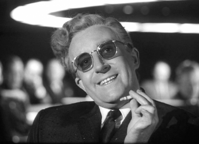 Un documental, varios afiches alternativos y los nombres que pudo tener Dr. Strangelove or: How I Learned to Stop Worrying and Love the Bomb de Stanley Kubrick a 50 años de su lanzamiento. - ENFILME.COM