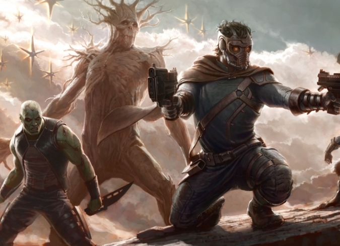 Nuevos videos de Guardians of The Galaxy de Rocket Raccoon (Bradley Cooper) y Groot (Vin Diesel). - ENFILME.COM