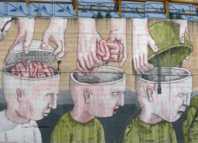 CINE Y ARTE: Graffiti en movimiento; los cortometrajes de Blu