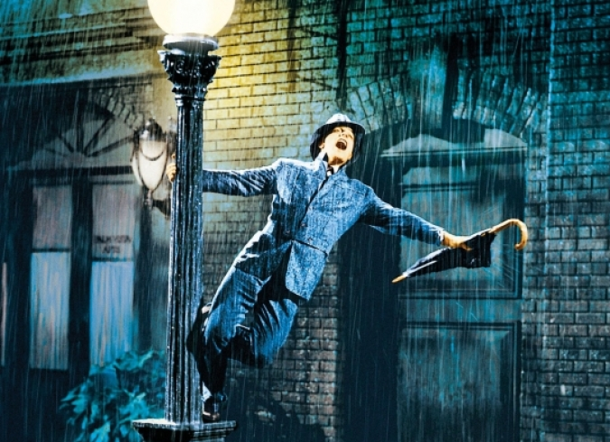 'Singin' in the Rainy Movies. Everybody's Singin' in the Rain', un mashup que reúne a varios personajes que se han sumergido bajo lluvia. - ENFILME.COM