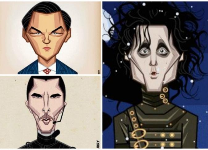 Divertidos gifs animados sobre la evolución de actores famosos