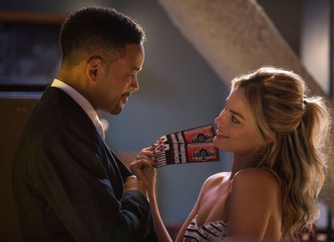 Will Smith y Margot Robbie protagonizan