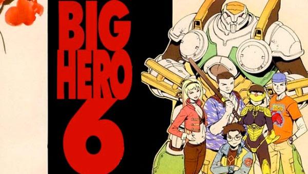 Big Hero 6, los orígenes del cómic - ENFILME.COM