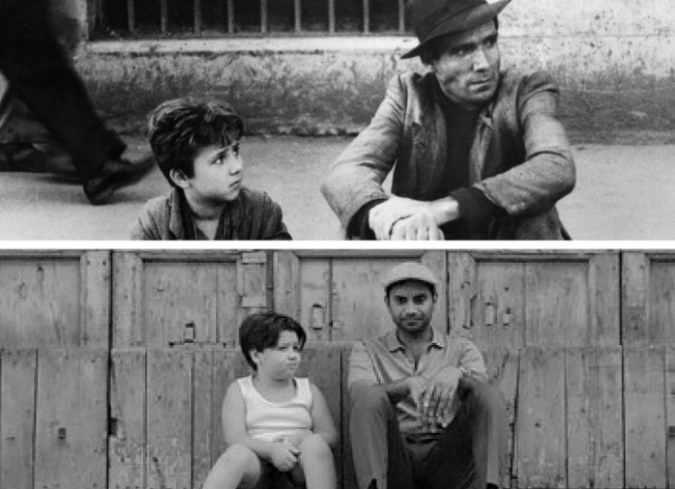 'Master of None: iPhone and Bicycle Thieves' captura las similitudes entre el filme y la serie. - ENFILME.COM