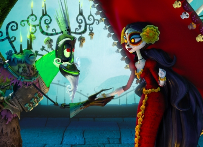 Pel cula el libro de la vida enfilme com for The book of life characters names
